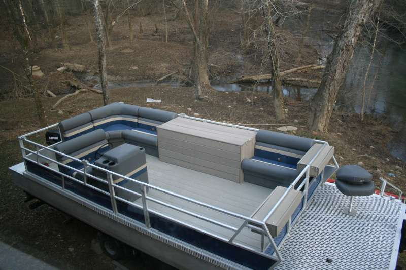 Viewing A Thread Best Decking Material For A Pontoon