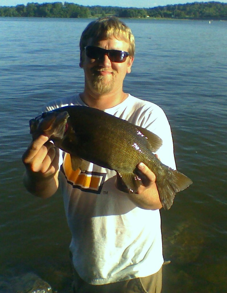 personal best smallie 5 1/2lbs 5/31/09