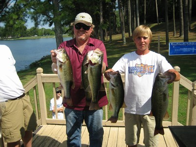 Took first place in the CBA with Colby, 08/07/10