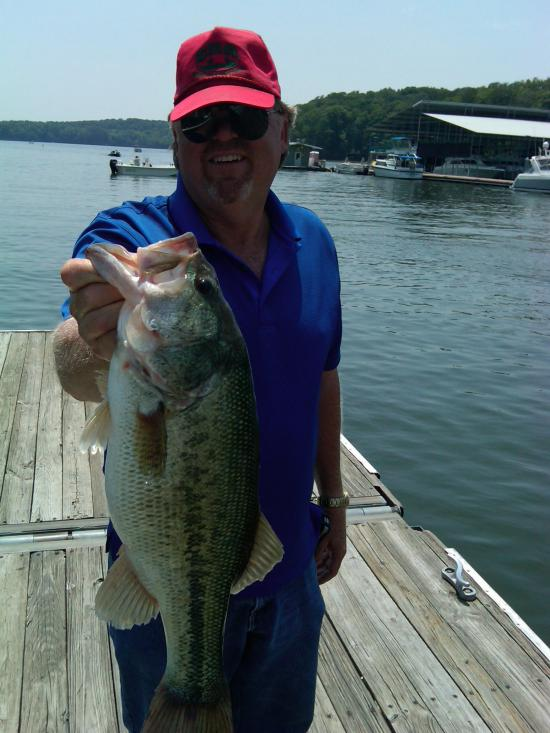 05/21/11 4th place May CFF, our big bass at 4 and a half pounds.