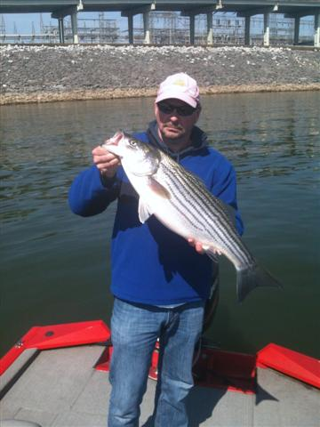Chunky Striper 2012 on the Rig