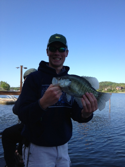 Big Crappie on Chick. mtnfisher